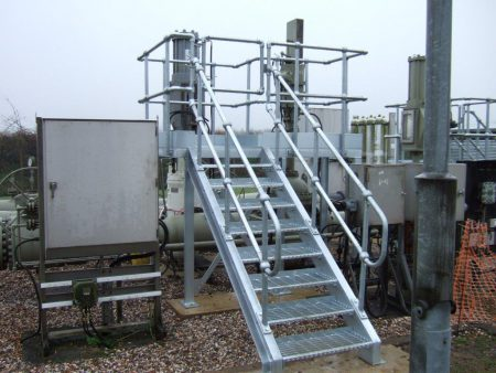 Access Platform Stairs for BPA