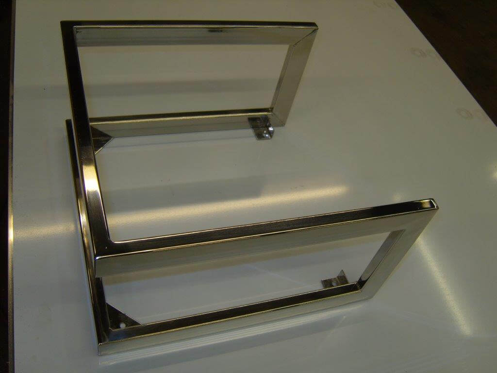 Chrome Plated Stand Harry Burrows
