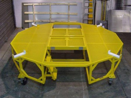 Engine Casing Trolley Fabricated For Rolls Royce