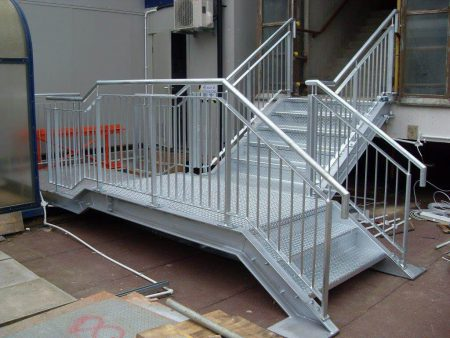 Fire Escape Stairs For Kettering Hospital