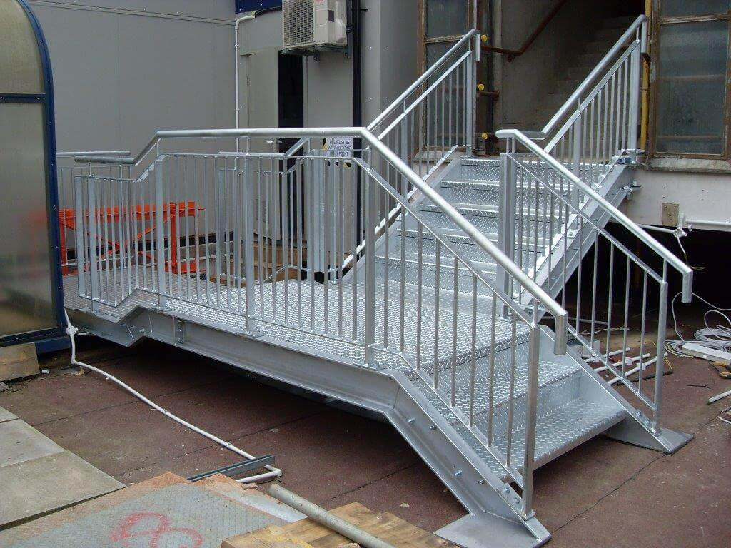 Fire Escape Stairs For Kettering Hospital Harry Burrows