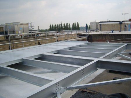 Fitting & Installations Roof Platform for Cadburys