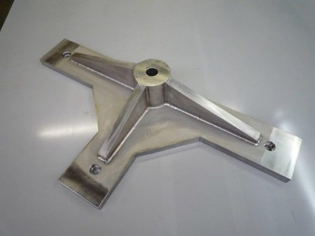 Industrial Fabrications Stainless Steel Fabricated Machined Part for a Fixture