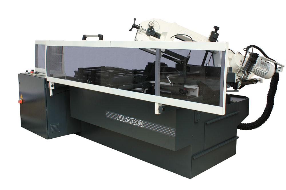 Harry Burrows Laser Cutting with Maco BSS 360 AR