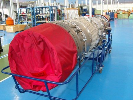 Material Handling Aero Engine Trolley