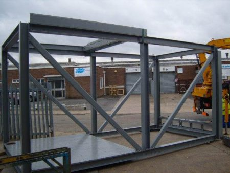 Special Made Structure to Test Seats for UK Firm