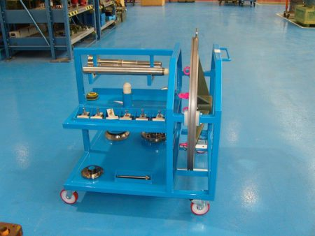 Tooling & Parts Trolley For Rolls Royce